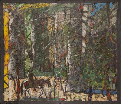 Gaylen Hansen, 'Kernal Rides Dark Horse', 2018