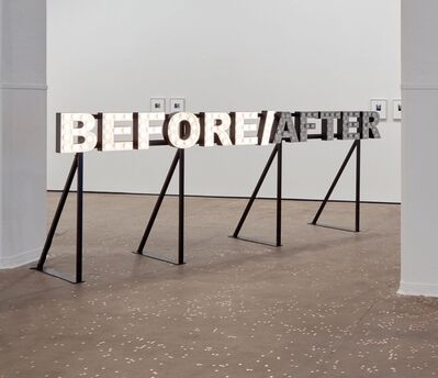 Peter Liversidge, 'BEFORE/AFTER', 2012