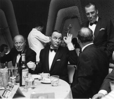 John Dominis, 'Frank Sinatra with Ed Sullivan, Miami, Fl', 1964