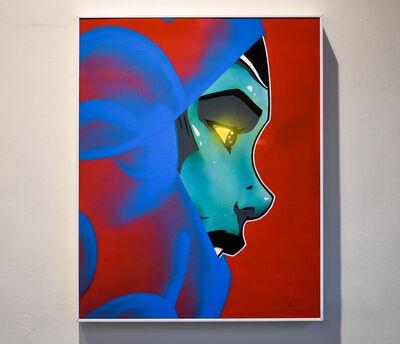 MDMN, 'Vision (Framed Original Painting)', 2017