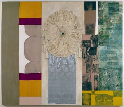 Robert Rauschenberg, 'Quartermoon Snare (Spread)', 1979