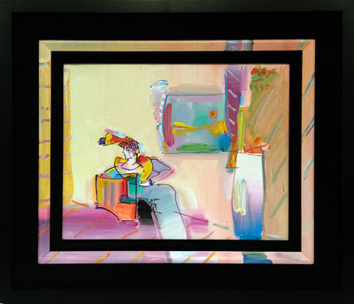 Peter Max, 'LIVING ROOM (WOMAN)', 1992