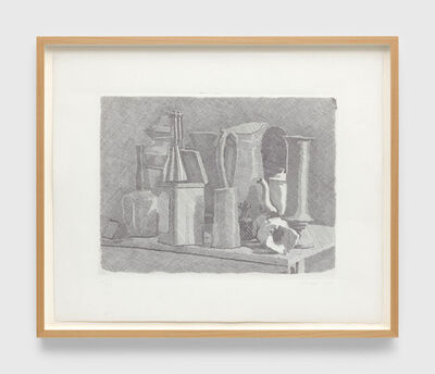 Giorgio Morandi, 'Grande natura morta con la caffettiera (Large still life with coffee pot)', 1934
