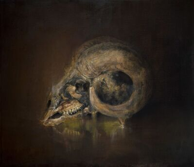 Jesse Nickell, 'Goat Skull', 2018
