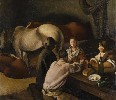 Felice Carena, 'La cena di Emmaus', 1922