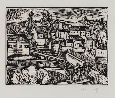 Maurice de Vlaminck, 'Montral [Walterskirchen 8]', 1913