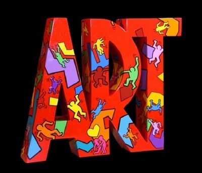 """F&G, 'Art """"Moving"""" / Tribute to Keith Haring', 2016"""