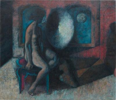 Armando Morales, 'Nude in Front of a Concave Mirror', 1981