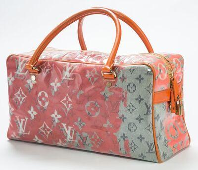 Richard Prince, 'Louis Vuitton Limited Edition Le Rose Defile Denim Pulp Weekender Bag', 2008