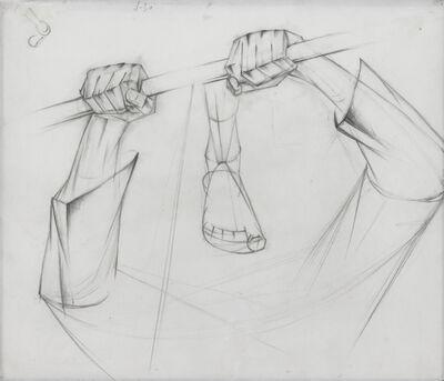 Alexander Bogomazov, 'Hands Gripping a Saw', 1928-9