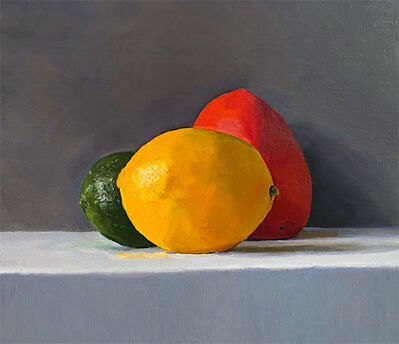 Dan McCleary, 'Lime, Persimmon, and Lemon', 12.28.19