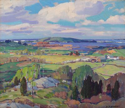 Aldro Thompson Hibbard, 'Island Road and Hog Island, Essex, Massachusetts', 20th Century