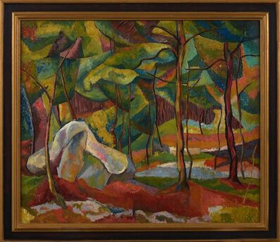 Mary Abbott, 'New Hampshire Woods', 1945