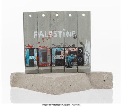 Banksy, 'Souvenir Wall Section', 2017
