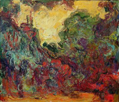 Claude Monet, 'The Artist's House Seen from the Rose Garden', 1922-1917