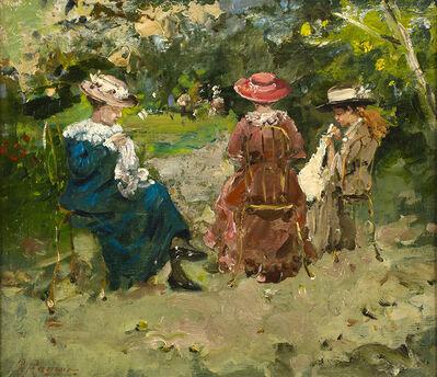 Raffaele Ragione, 'Women who sew'