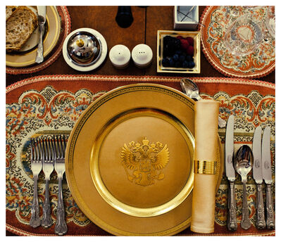 Davide Monteleone, 'Imperium (Putin's dinner table)', 2012