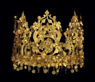 'Crown, Tillya Tepe, Tomb VI', 1st century AD