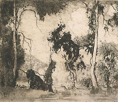 Daniel Garber, 'The Heron', 1923