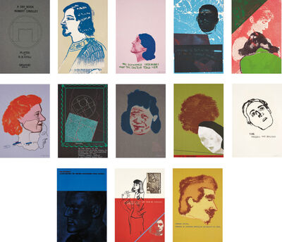 R. B. Kitaj, 'A Day Book by Robert Creeley; including two additional prints', 1970-1972