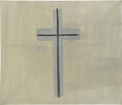 Luc Tuymans, 'Cross', 1987