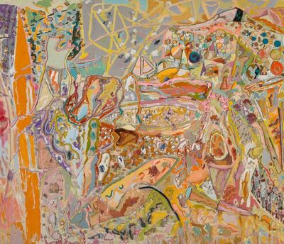 Larry Poons, 'A Fortune of Solitude', 2001