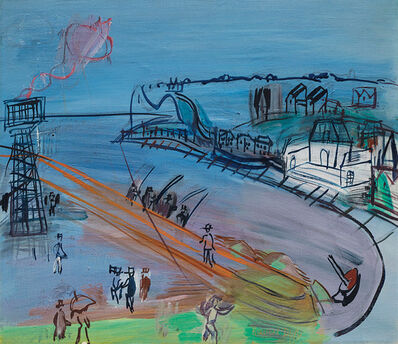 Raoul Dufy, 'L'entrée du port de Sainte-Adresse', 1950