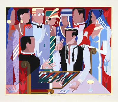 Giancarlo Impiglia, 'Backgammon Players', 1988