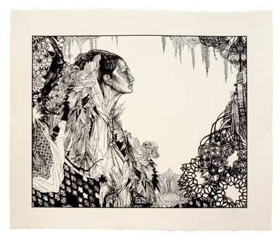 Swoon, 'Ice Queen', 2017