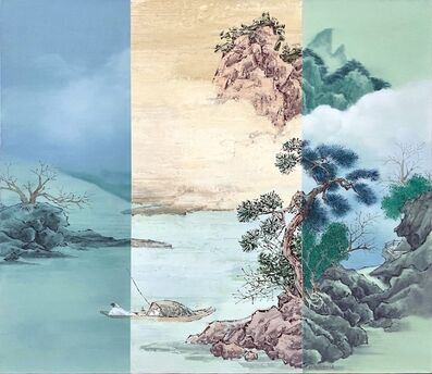 He Sen, 'Sea and Mountain', 2017