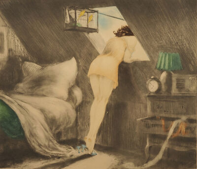 Louis Icart, 'The Attic Room,', 1946