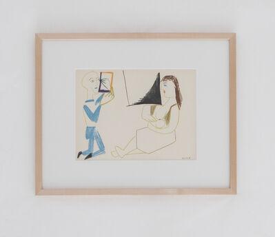 Pablo Picasso, 'Le peintre et son modèle', 1954