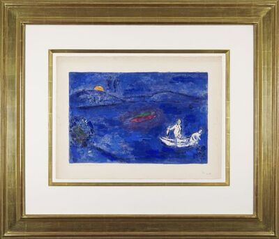 Marc Chagall, 'Daphnis and Chloé: Echo', 1961