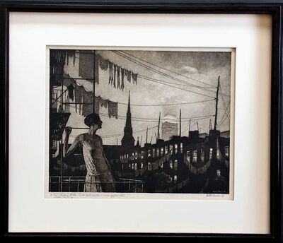 Martin Lewis, 'The Glow of the City', 1929