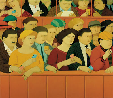 Andrew Stevovich, 'At the Track', 1987