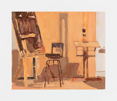 Ian Grose, 'Studio with Chair and Set Square', 2017