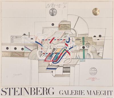 Saul Steinberg, 'Via Airmail', 1970