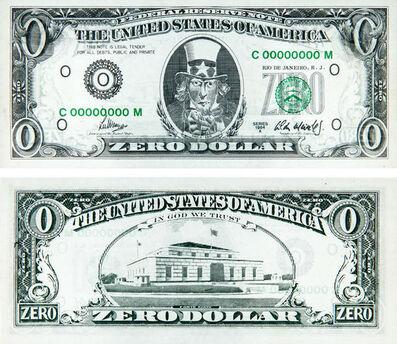 Cildo Meireles, 'Zero Dollar', 1974-1984