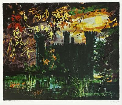 John Piper, 'Eastnor Castle', ca. 1970