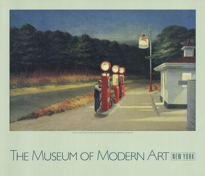 Edward Hopper, 'Gas', 1988