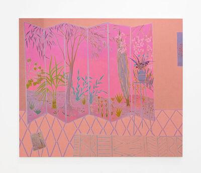John McAllister, 'walking wilds glittery', 2017