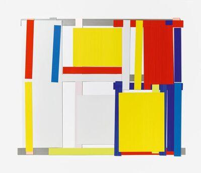Imi Knoebel, 'Rot Gelb Weiß Blau 5 E', 1997/2009