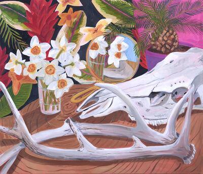 Anna Valdez, 'Spring Daffodils and Desert Bones', 2019