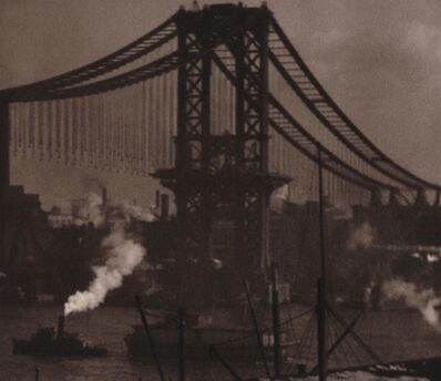 Alvin Langdon Coburn, 'Unfinished Bridge', 1908