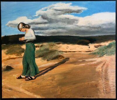 Clare Menck, 'Dune shadow (awaiting the rains)', 2020