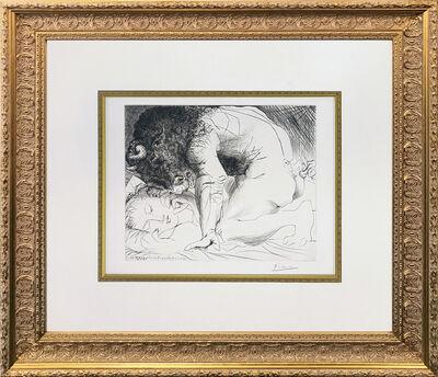 Pablo Picasso, 'MINOTAURE CARESSANT UNE DORMEUSE (BLOCH 201)', 1933