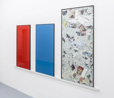 Christoph Rütimann, 'Rot Blau Wasch', 1996