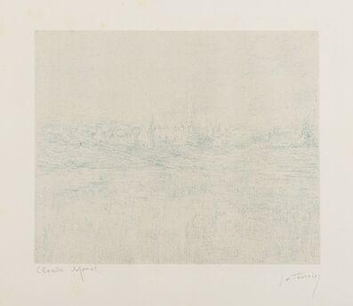 Claude Monet, 'L'Abbaye dans la brume', 1890