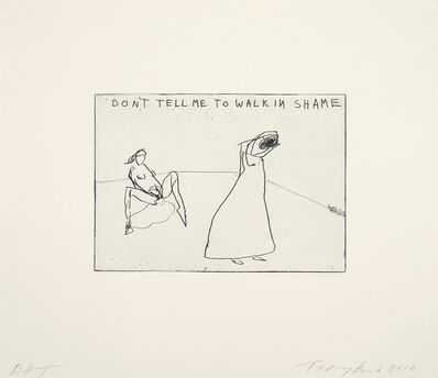 Tracey Emin, 'Say Nothing', 2010
