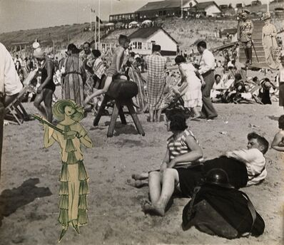Erwin Blumenfeld, 'The Kaiser on Zandvoort Beach', 1930-1932